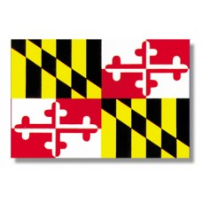 3x5' Lightweight Polyester Maryland Flag