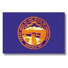 10x15' Nylon Nebraska Flag