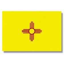 "4x6"" Hand Held New Mexico Flag"