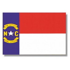 "4x6"" Hand Held North Carolina Flag"