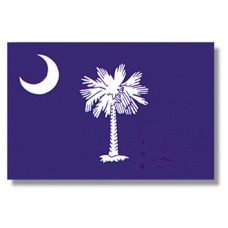 3x5' Lightweight Polyester South Carolina Flag
