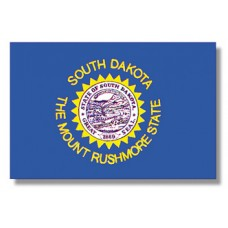 "4x6"" Hand Held South Dakota Flag"