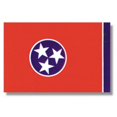 "4x6"" Hand Held Tennessee Flag"