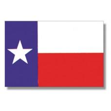 "4x6"" Hand Held Texas Flag"