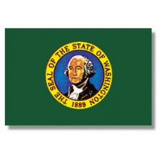 "4x6"" Hand Held Washington Flag"