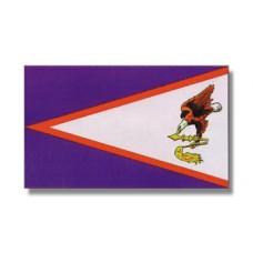 """4x6"""" Hand Held American Samoa Flag"""