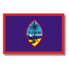 "4x6"" Hand Held Guam Flag"