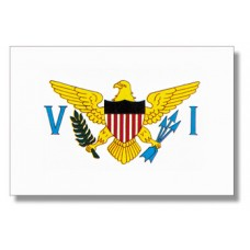 "4x6"" Hand Held Virgin Islands Flag"