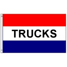 3x5' Lightweight Polyester Trucks Flag